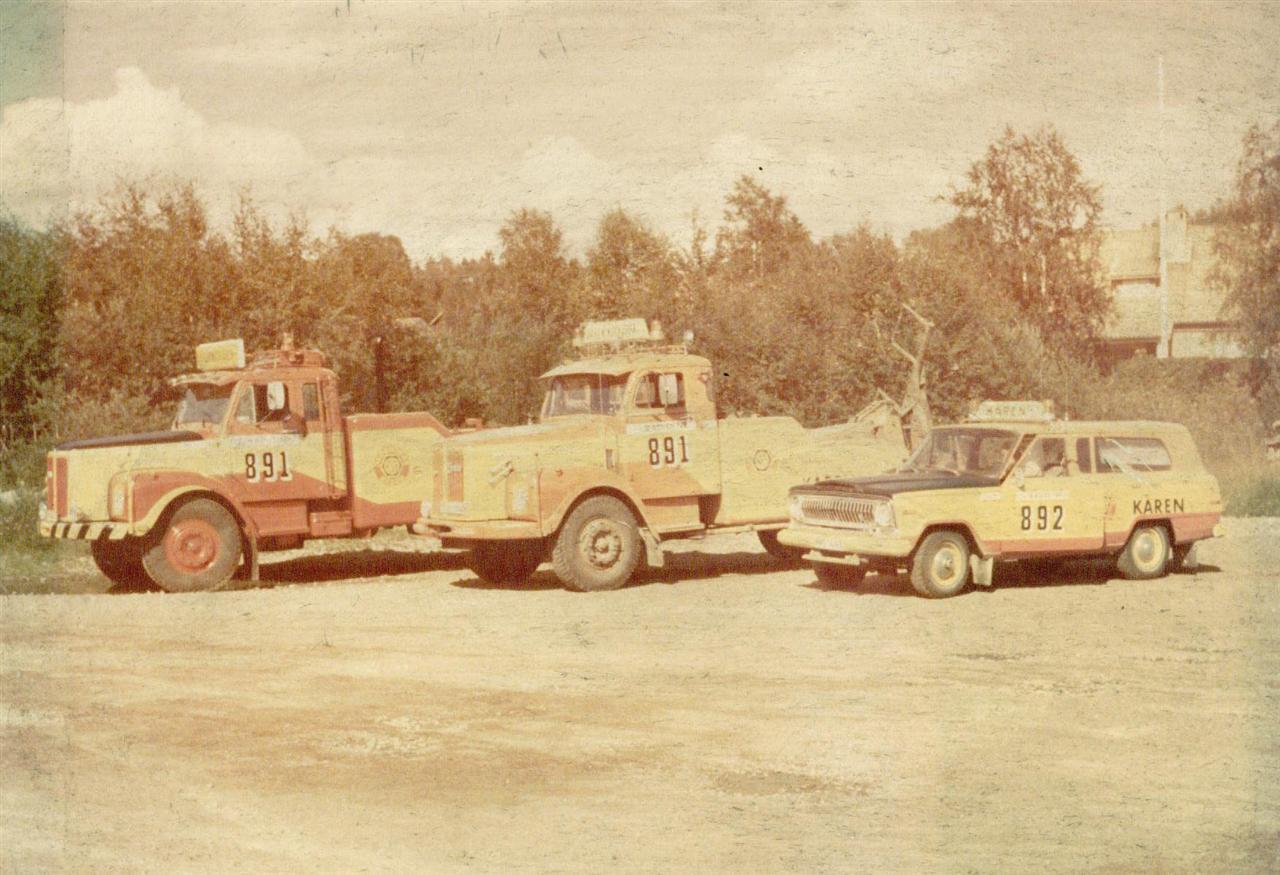 Vagnparken 1978