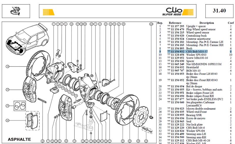 VIS CHCM10X150 PRIS DSREF121088 - CHS Bolt M10-37