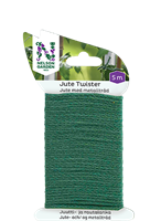Jute Twister 5m grön