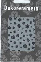 DM- Sticker Snowflake black