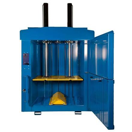 Balpress med stort inkast 1500mm och extra stort djup 1100mm
