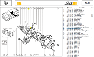 VIS CHC 3X50    LG:10 CL:8.8