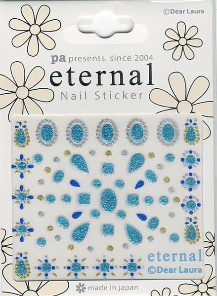 DL- Sticker pattern blue