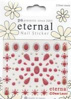 DL- Sticker pattern red