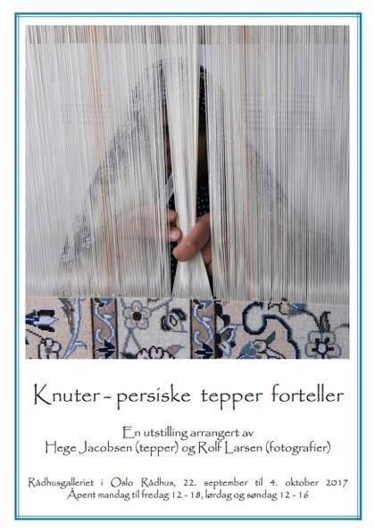Utstilling 'Knuter - persiske tepper forteller'