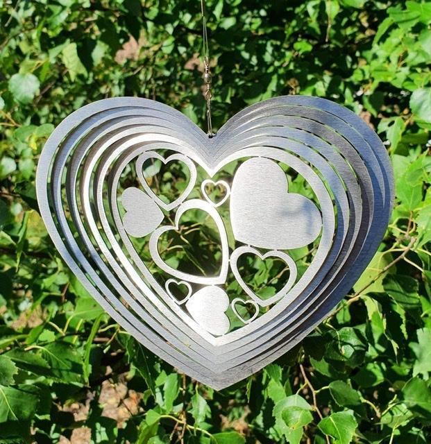 Vindspel hjärta utan kula