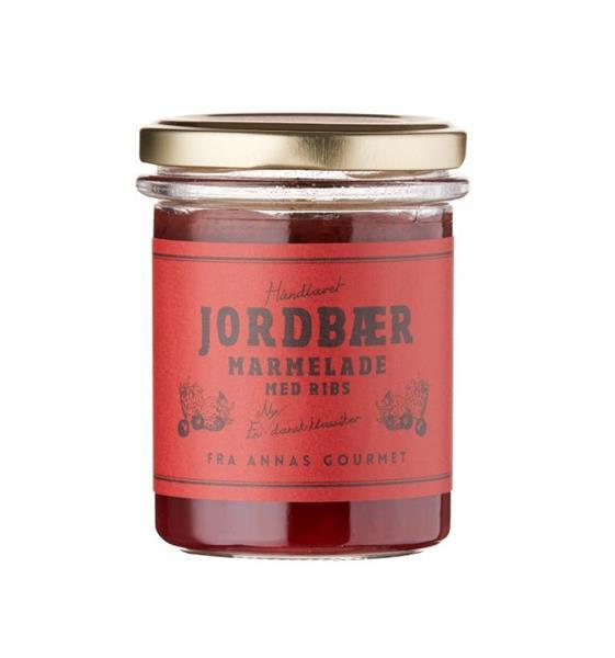 Jordbær og Rips Marmelade 210g