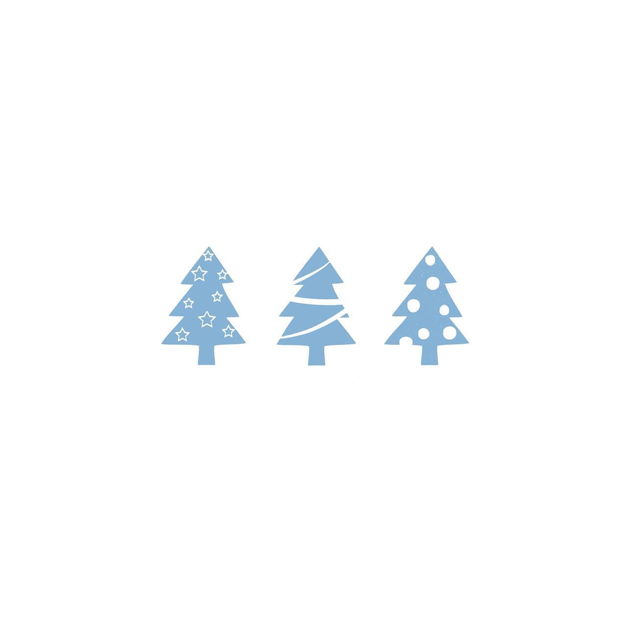 1210133, tre juletre, blå