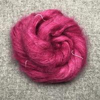 Silk Mohair Linns Cerise