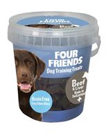Four Friends Training Treats Beef & Liver 400g