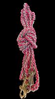 3m bånd rosa/grå med liten krok