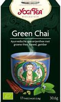 Yogi tee vihreä tsai 17 pussia, luomu