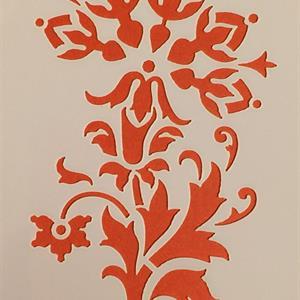 Stensil Blomsterbord