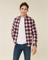 Lexington Peter Lt Flannel Checked Shirt, Red/Blue/White