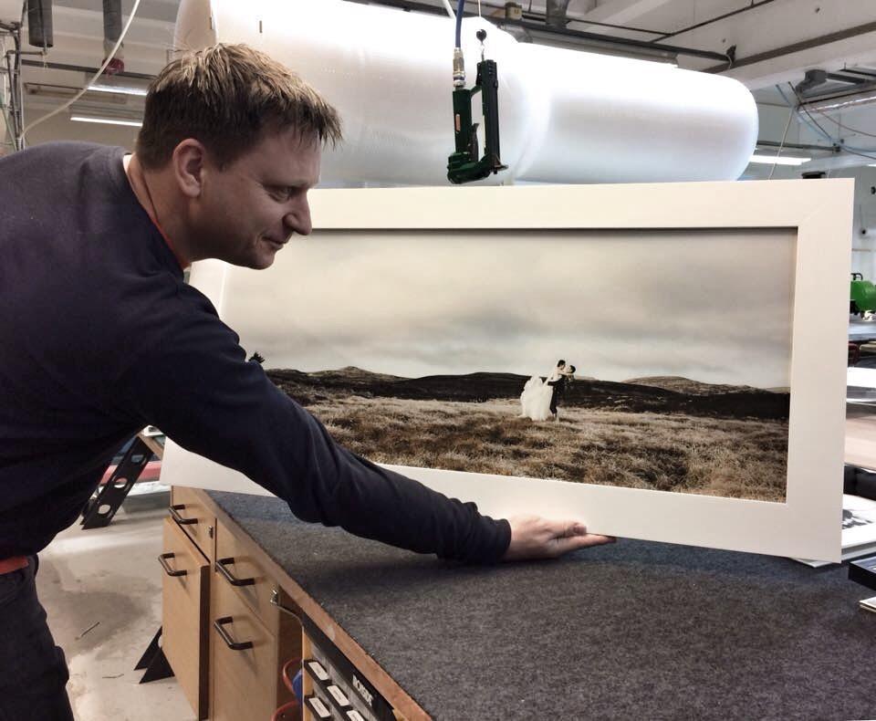 Horisontale bilder kan fungere fint på store vegger!