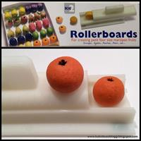 PME Rollerboard 2 for marsipanfrukter (appelsin/pære)