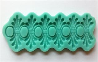 Silikonform Bord (grønn)