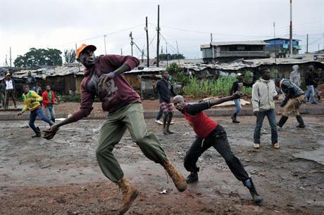 Problem i Kibera / Problems in Kibera
