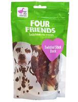 Four Friends Twisted Stick Duck 12,5cm 4st
