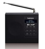 Lenco DAB/FM ra. svart PDR-020