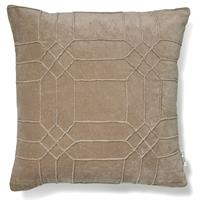 Classic Collection Cushion Cover Delhi, Simply Taupe