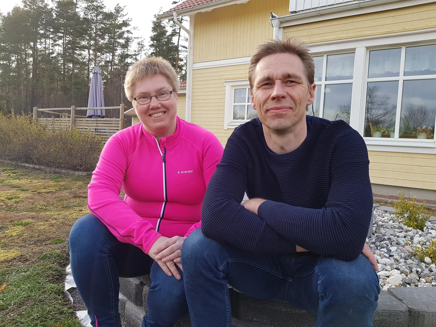 Camilla och Jan Gustavsson