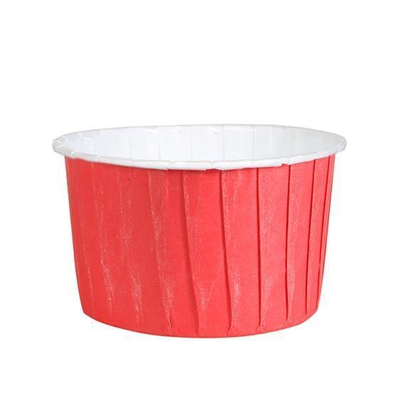 Muffinsform M 24 stk, Rød