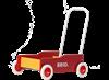 Brio Kävelyvaunu, punainen