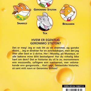 Geronimo Stilton: Fire mus i den svarte jungelen