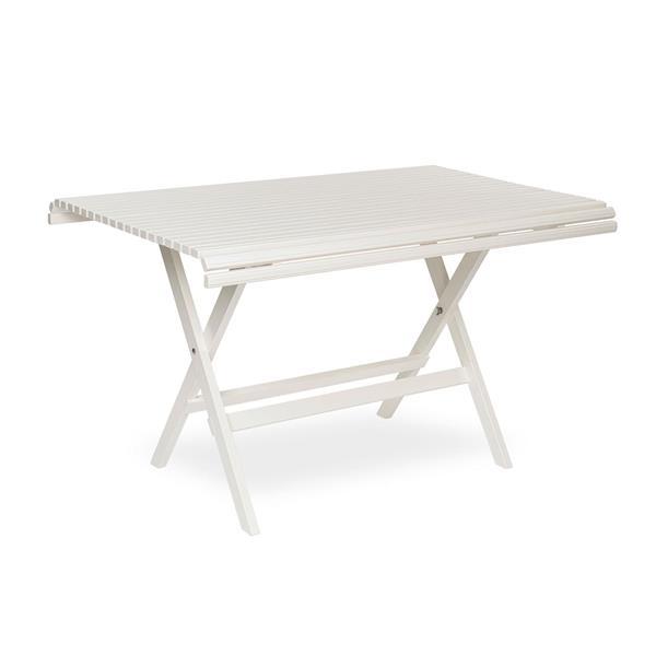 Sundborn Trädgårdsbord 125 cm kittvit