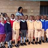 Kibera Nursary School - end of term