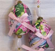 Ägg dekorerade Rosor 2-pack