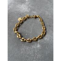 Three M Bracelet, Gold