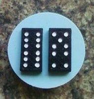 Silikonform Domino