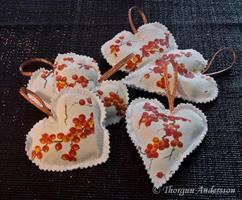Hjärta Havtorn lavendel 2-pack