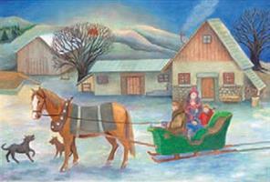 Maatilan joulu-adventtikalenteri