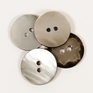 Perlemor grå 20 mm