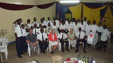 The first visit in Kibera 2010