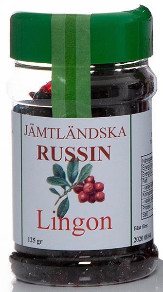 Jämtländska russin lingon 125 g