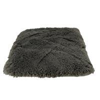 Dog Pillow Shaggy Grey