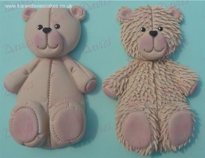 Silikonform Stor Teddybjørn Bamse KD