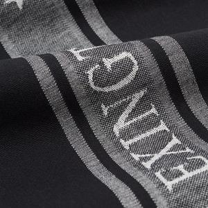 Lexington Icons Cotton Jacquard Star Kitchen Towel, Black / White