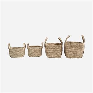 House Doctor Basket Sikar, 50 x 25 x 25 cm, Natural