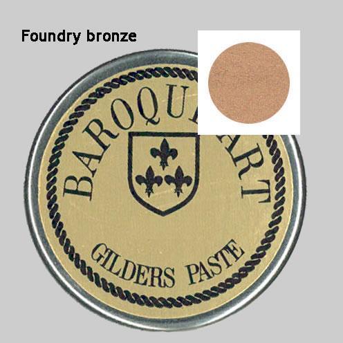Gilders paste foundry bronze