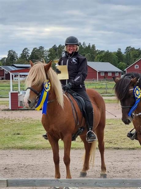 8 oktober Tävlingsrapport från Susanne!