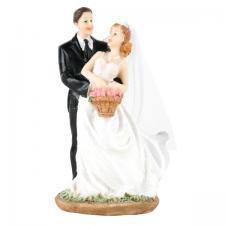 Brudepar Dansende, 13,0 cm
