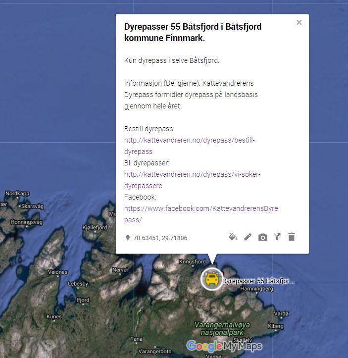 Dyrepasser 55 Båtsfjord i Båtsfjord kommune Finnmark