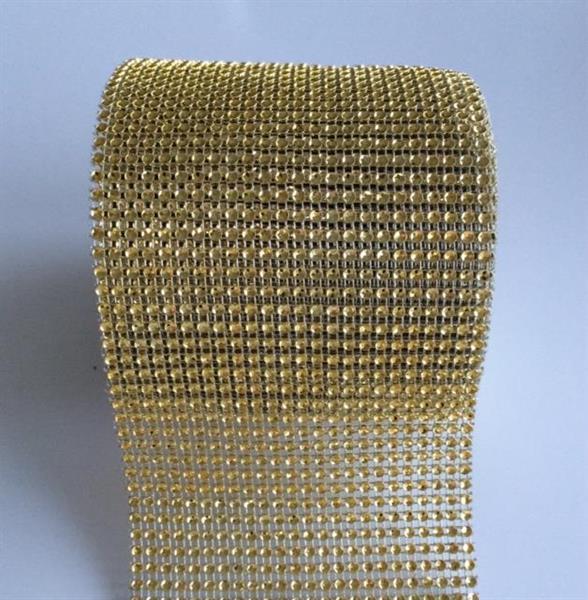 Dekorbånd Gull