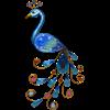 Solcell Peacock vägg Star Trading