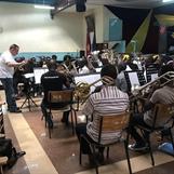 Övning med Nairobi Central Band